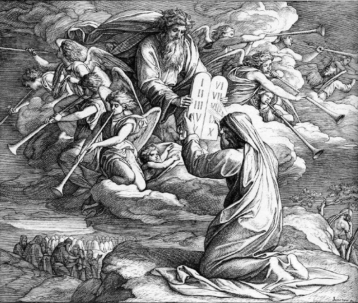 иллюстрация к библии ИСХОД глава 31 #библия #ветхийзaвет #Bible #иллюстрация #гравюра #картина #искусство #религия #христианство