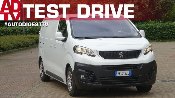 TEST DRIVE PEUGEOT EXPERT 2.0 150 CV