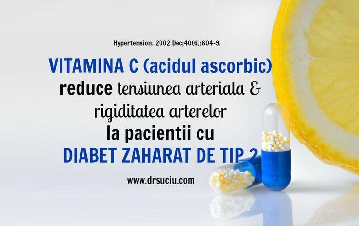 Rolul Vitaminei C in Diabetul zaharat de tip 2
