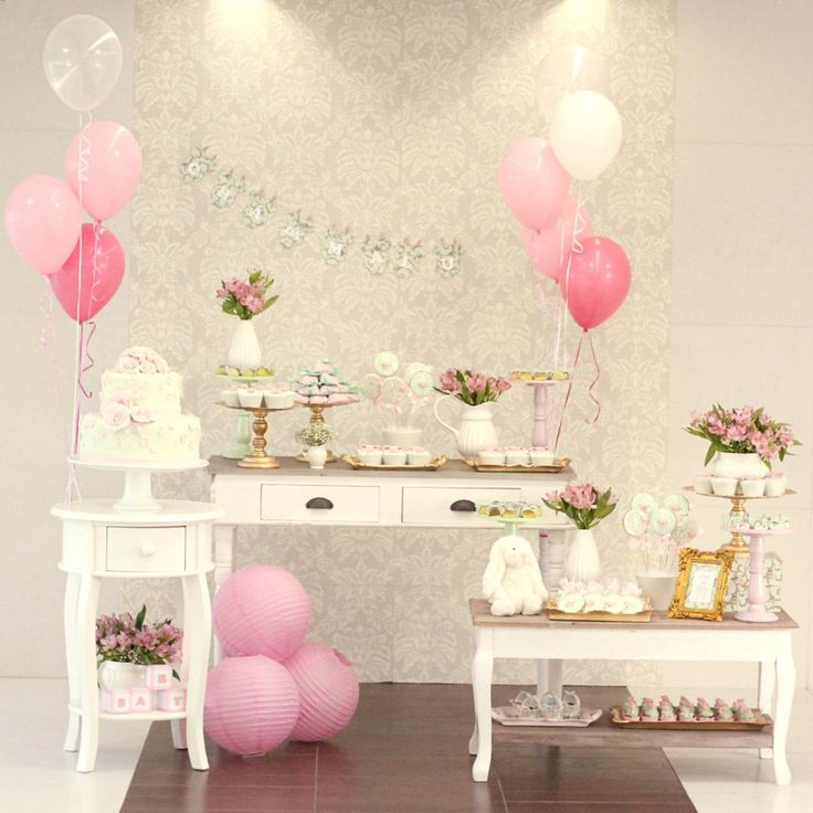 cha de bebê, baby shower, menina, girl, verde rosa e dourado, green pink and gold.