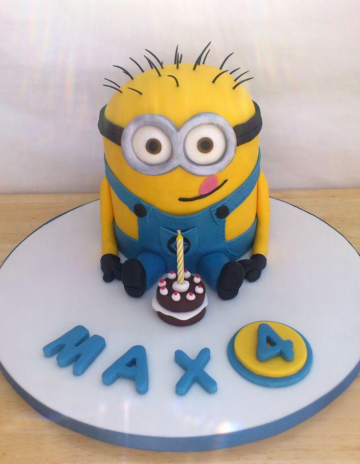 55 best minions images on Pinterest Cake minion Minion party