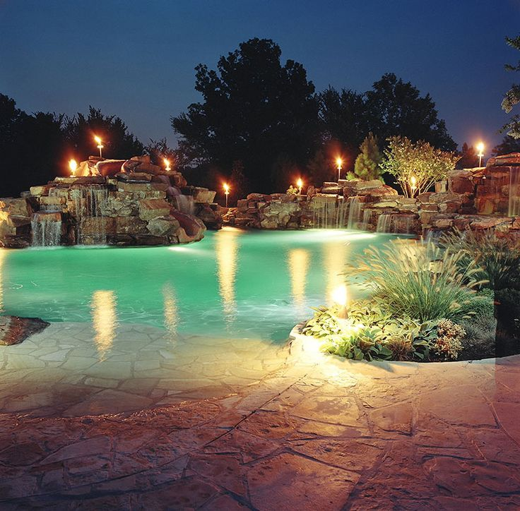 Luxury Swimming Pools With Waterfalls best 25+ luxury pools ideas on pinterest | dream pools, beautiful
