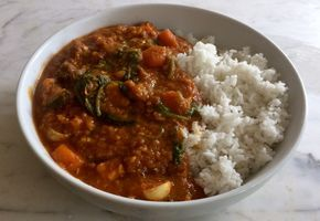 Vegetable-Laden Beef Dhansak (Instant Pot) - Instant Pot - Slimming World Friendly