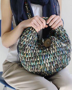 ブルー系のサマーバッグ|手づくりタウンのレシピ屋さん|手づくりタウン|日本ヴォーグ社