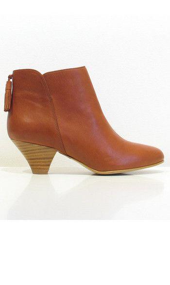 Sessun low boots Barranco cuir terra #lowboots #barranco #shoes #shoeaddict #sessunaddict #ankleboots #itshoes #shoeporn #sessun #brown