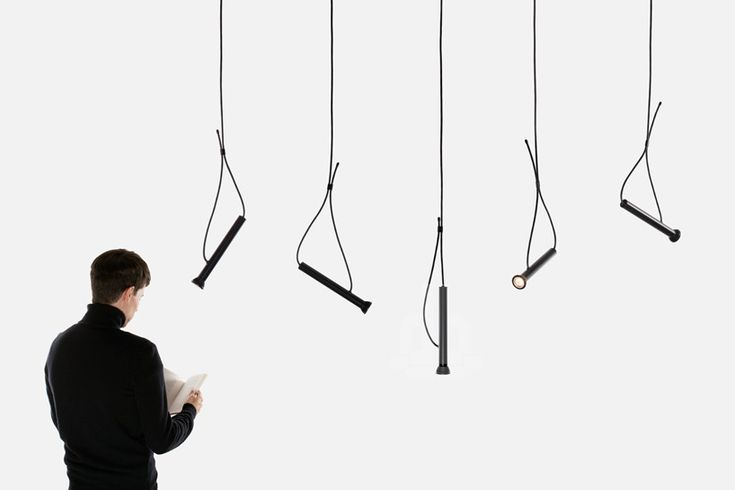 suspended lasso torch light by quentin de coster for CINNA - LIGNE ROSET