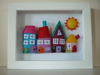 Beautiful Felt Pictures