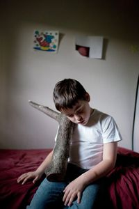 by Timothy Archibald, Echolilia project. Beautiful exploration of a relationship between a father and his autistic son.