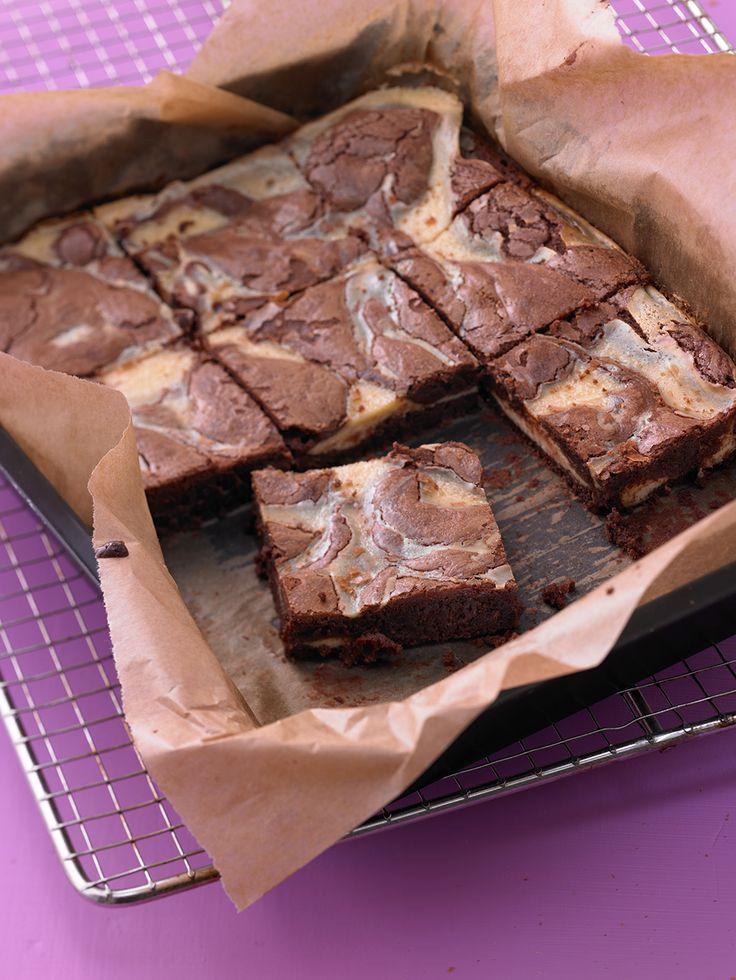 Käsekuchen-Brownies