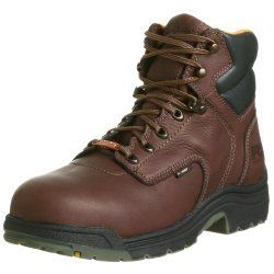 >> Discount link for the Timberland Titan work boot << The Timberland Pro Titan 6′ waterproof safety toe boot  Features Super lightweight work boots Premium SOFT full-grained leather – means you get the waterproof properties of leather with the shortest possible 'break in time' Your choice of an Alloy or composite (non-metallic) safety toe …