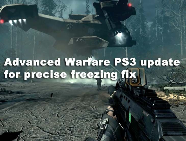 When playing Call of Duty Advanced Warfare on PS3 you can keep the
