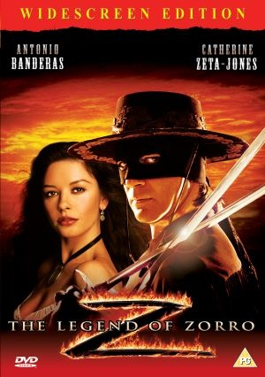 The Legend of Zorro (2005) After being persuaded by his resentful wife to hang up his alter ego's sword, Don Alejandro de la Vega returns to action as the masked avenger Zorro when he gets wind of a scheme to sabotage California's bid for statehood. Antonio Banderas, Catherine Zeta-Jones, Rufus Sewe...5c