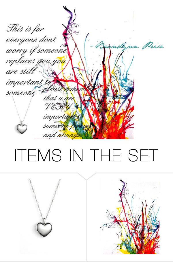 """""""You are important"""" by brandynn ❤ liked on Polyvore featuring art"""