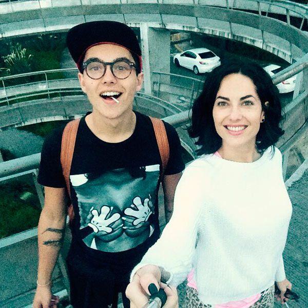 Bárbara Mori y Sergio Mayer, un excelente equipo para educar a su hijo