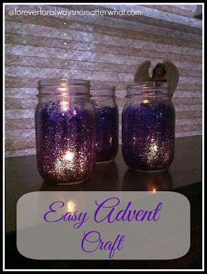 Easy Advent Craft | Forever, For Always, No Matter What
