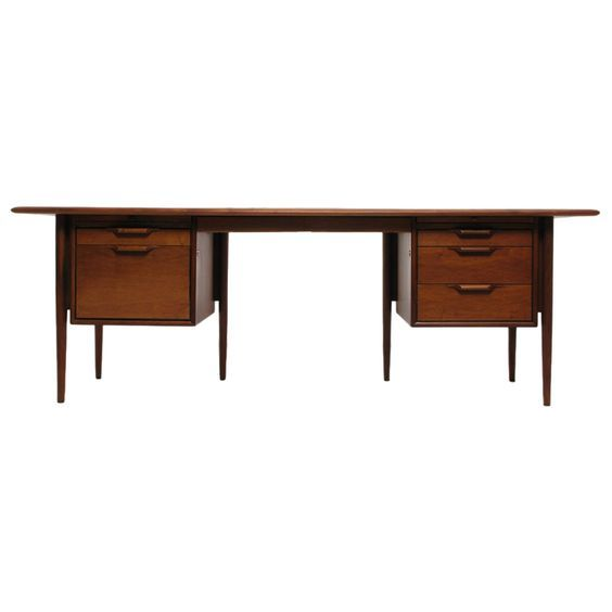 view this item and discover similar desks and writing tables for sale at this massive executive desk was built by stow and davis furniture company and has