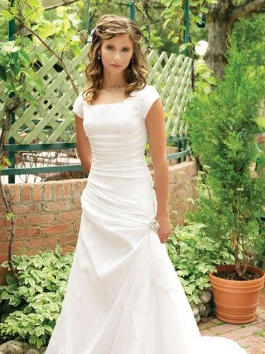 87 Best Modest Wedding Dresses Images On Pinterest