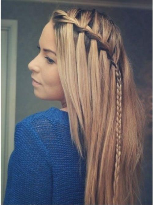 Easy Hairstyles For Long Hair U2013 Cute Everyday Hairstyles For Long Hair  #QuickEverydayHairstyles