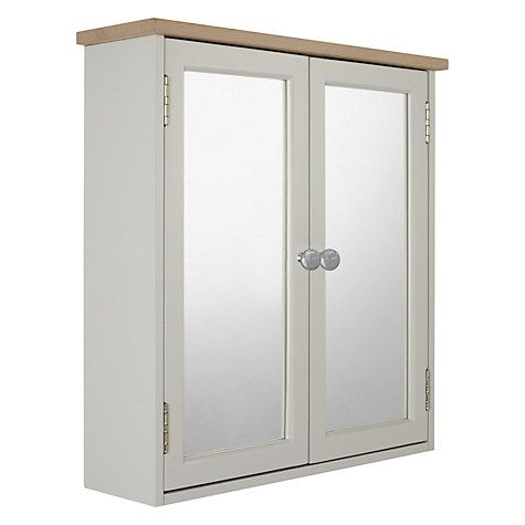 Croft Collection Blakeney Double Mirrored Bathroom Cabinet