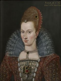 Anne of Denmark  Anne was born on 14 October 1574, at Skanderborg Castle, in Denmark. She was the daughter of Sophie of Mecklenburg-Güstrow (4 September 1557 - 14 October 1631) and Frederick II, King of Denmark and Norway (1 July 1534 - 4 April 1588).