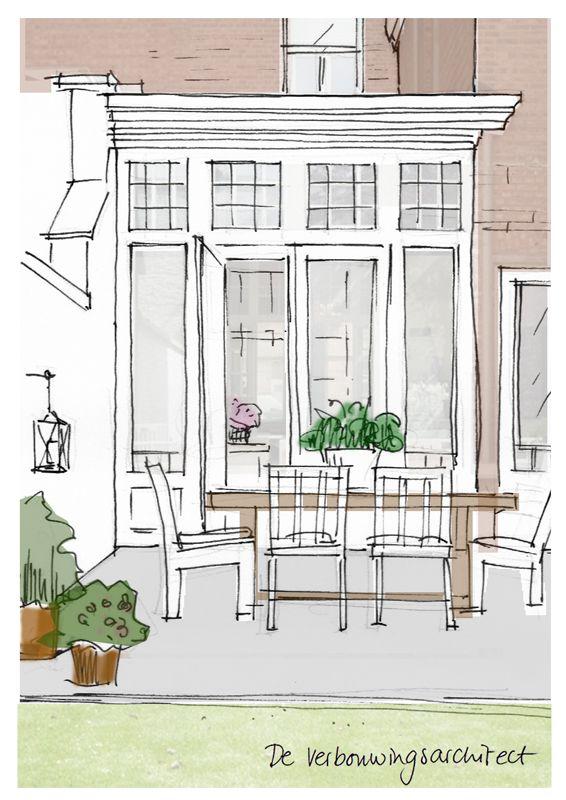 Ga je je huis verbouwen? Niet alleen binnen maar ook aan de buitenkant? Dan ontkom je er niet aan een ontwerp te (laten) maken voor de gevel.