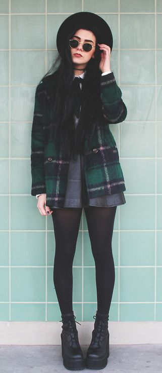 maybe i'll get a plaid coat this winter...