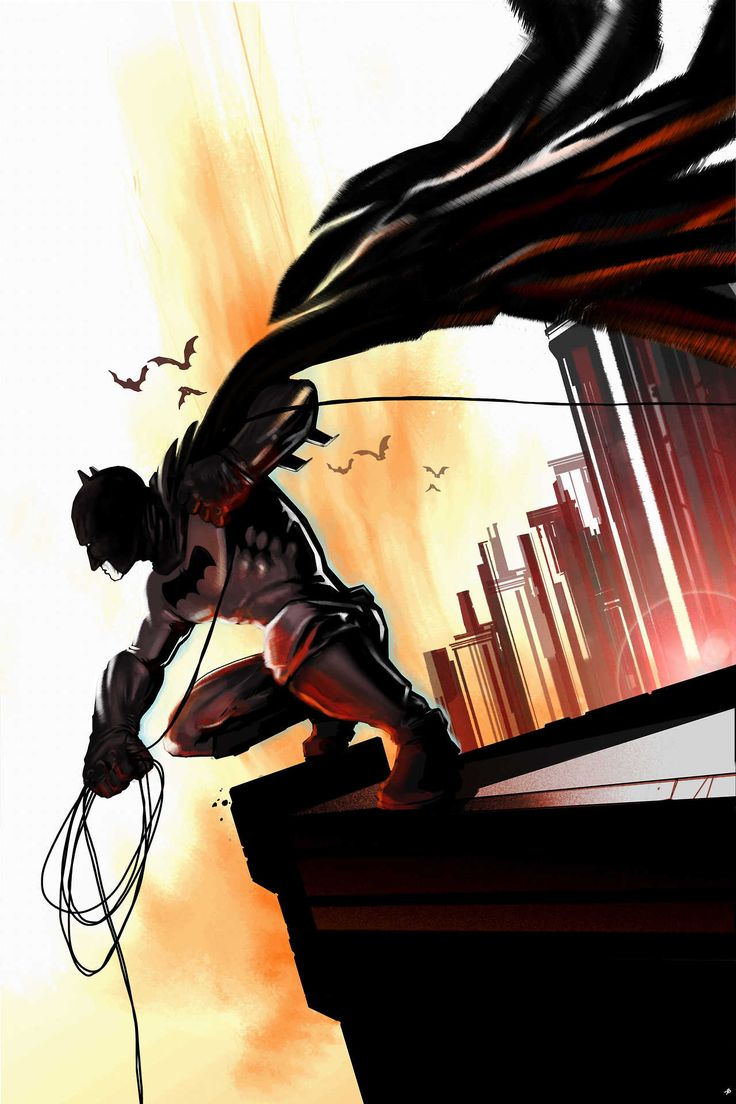 Batman by i-dun-a-drawing-wiv-my-hands: