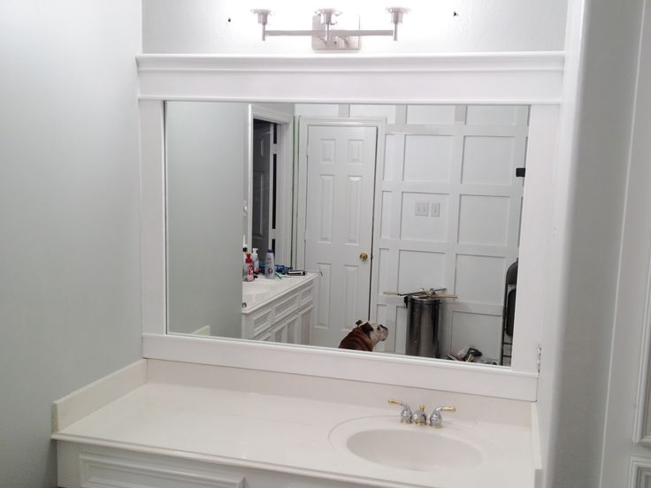 framed mirrors for bathroom vanities bathroom interior white framed wall mirror 23199