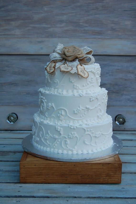 shabby chic bridal shower cakes%0A Items similar to Rustic Cake Stand  Shabby Chic Cake Stand   Rustic Wedding  Reception   Rustic Chic Cake Stand   Shabby Chic Cake Stand  Rustic Wedding