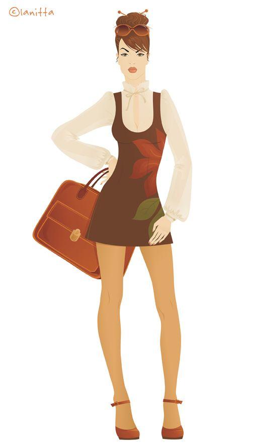 Lanitta.com :: Retro   Fashion Designers' Sketches ...