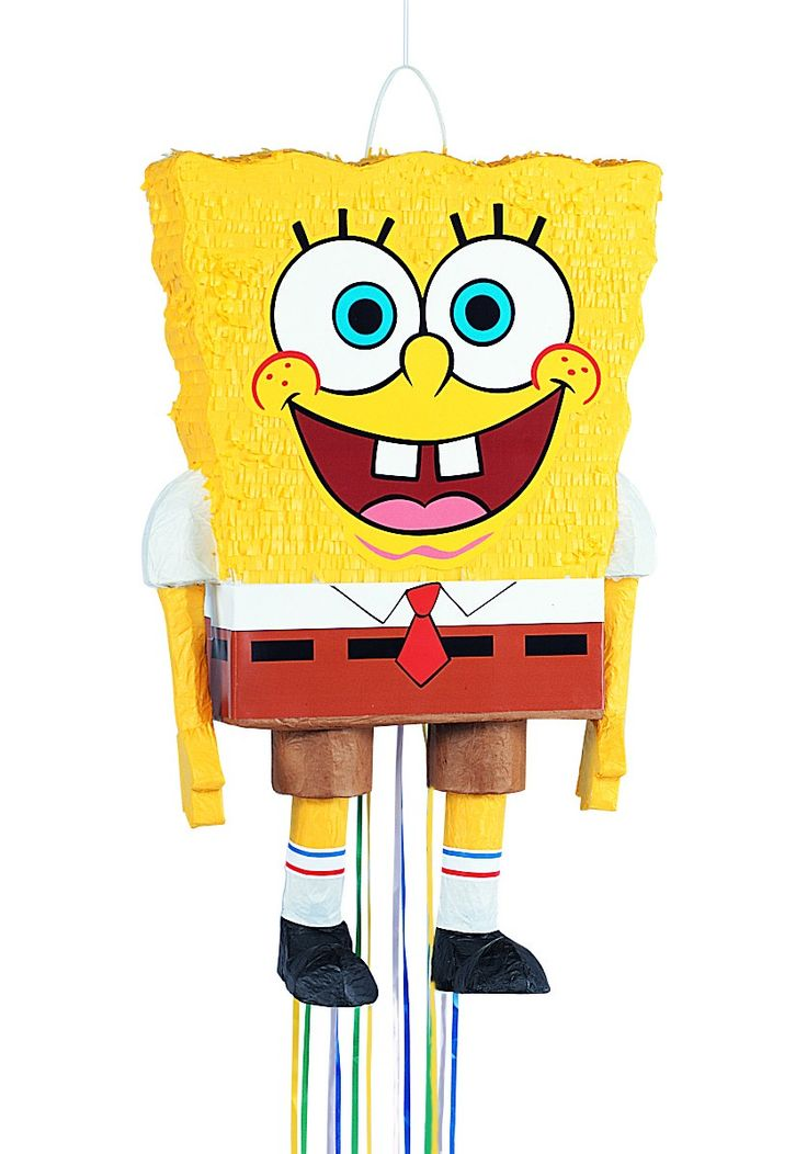 Spongebob Square pants theme: costumes, balloons, Pinata - Birthdays theme Contact party plaza today 678-935-1996