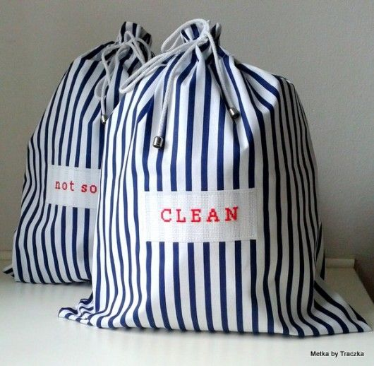 St Sopot - nadmorski  klasyk - torebki podróżne   underwear travel bags - just a perfect idea for upcoming holidays
