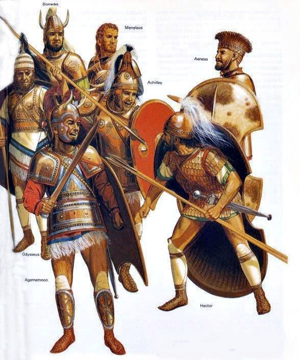 Differences Between Aeneas & Achilles