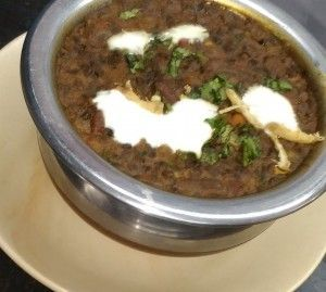 Dal Makhani  Dal Makhani  BNG Standard Recipe No: 1925RECIPE TYPE : Main CourseCUISINE : IndianPREP TIME : 35 minsTOTAL TIME : 40 minsSERVES : 2-3  About The Dal Makhani Recipe:  A spicy and heavy dal preparation made with a combination of rajma and urad dal.  INGREDIENTS of Dal Makhani:  1. Black gram(kali dal)-100gm 2. Kidney beans(rajma dal)-50gm 3. Tomato-1pc 4. Unsalted butter-1 tbsp 5. Clarified butter-50 gm 6. Onion-1 7. Ginger-20gm 8. Garlic-15gm 9. Turmeric powder-1/2 tsp 10. Red…