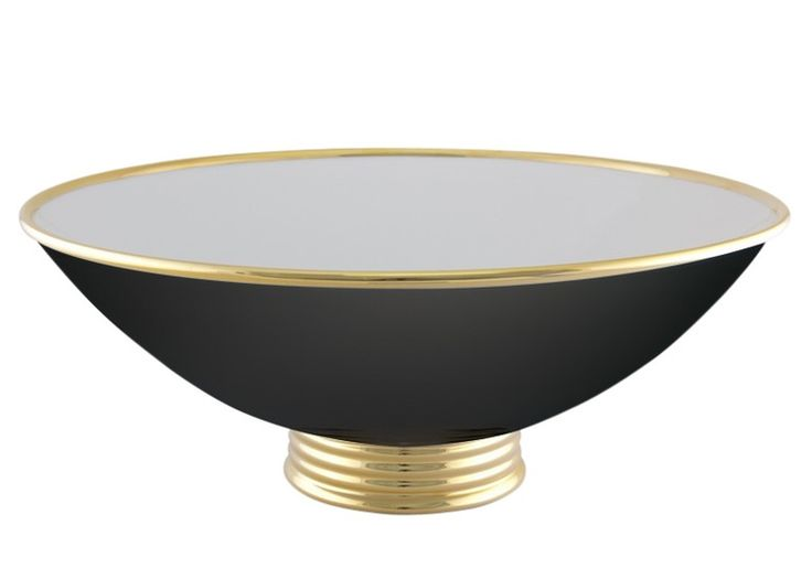 Center bowl - Art Deco Mid-Century / Modern Transitional Bowls - Dering Hall