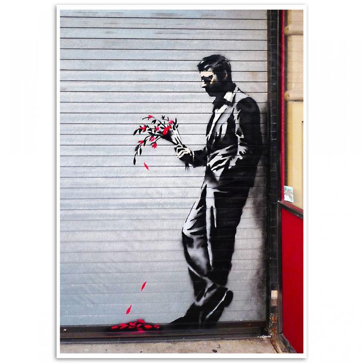 Street Art Poster - Waiting in Vain