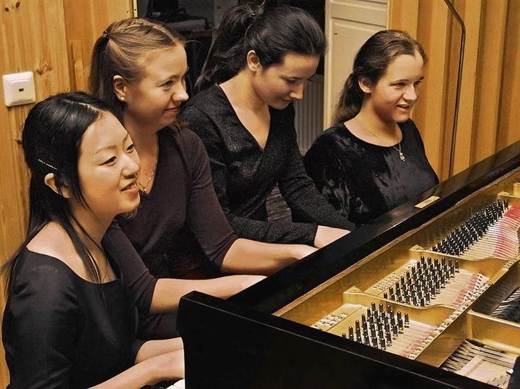 Pianistit vuodelta 2008