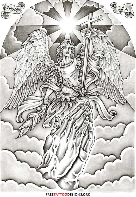 Archangel Michael tattoo-killer back piece design!