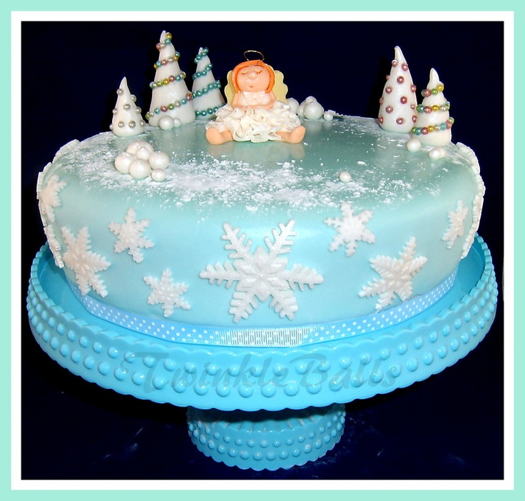 TwinkleBalls Christmas Cake 2012