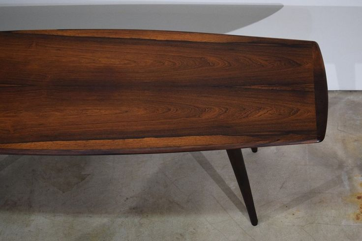 Danish vintage rosewood coffee table, design by Ingvard Jensen, made in Denmark