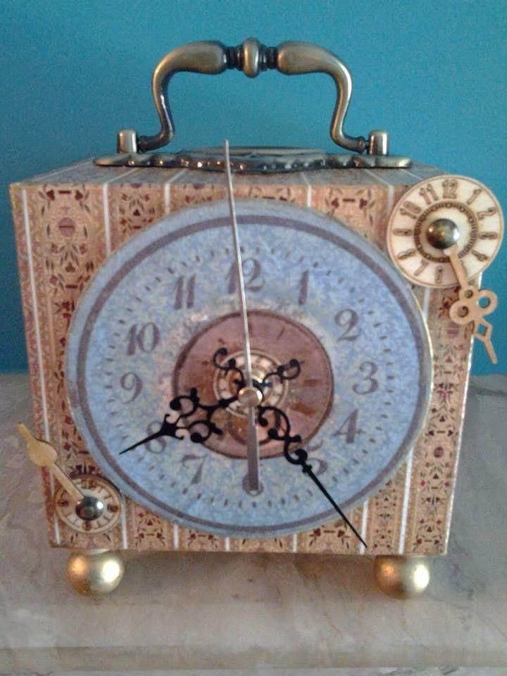 clock creation made by Erifili