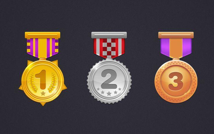 游戏徽章图标UI设计