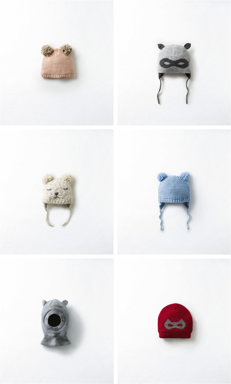 The cutest animal Winter hats for kids