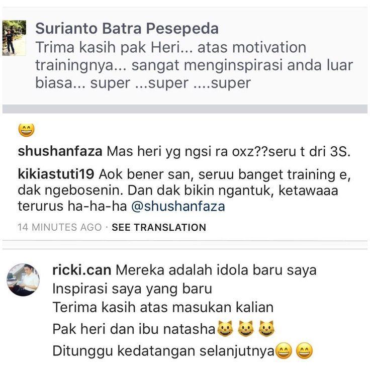 TSS Traingasm #testimoni  #happytraining #training #pelatihan #motivasi #bpr #perbarindo #pttss