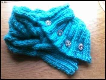 - Aunt Josephine's Wool Scarf
