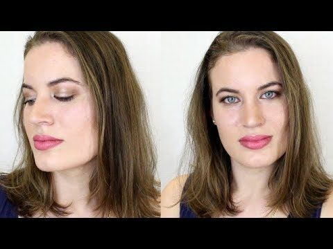 How to Create a Dewy Foundation and Easy Eye Makeup Look #makeuptutorial