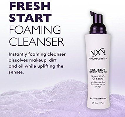 Excellent ginger organic facial cleanser