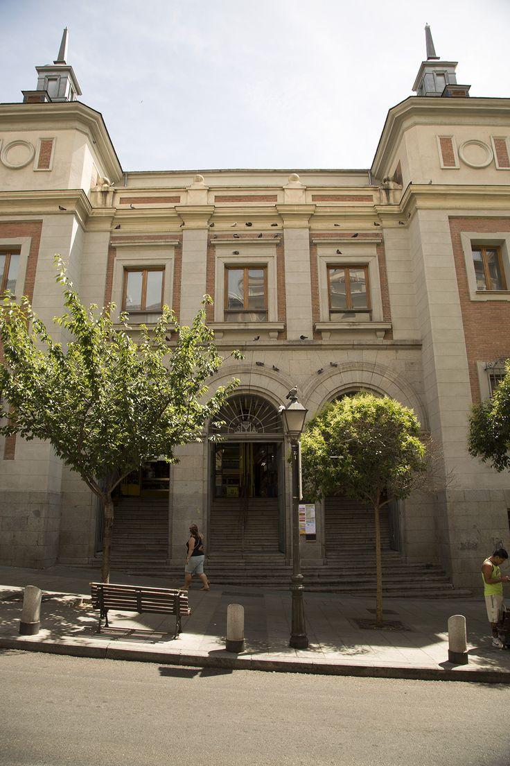 Mercado de San Fernando, Embajadores. Madrid.