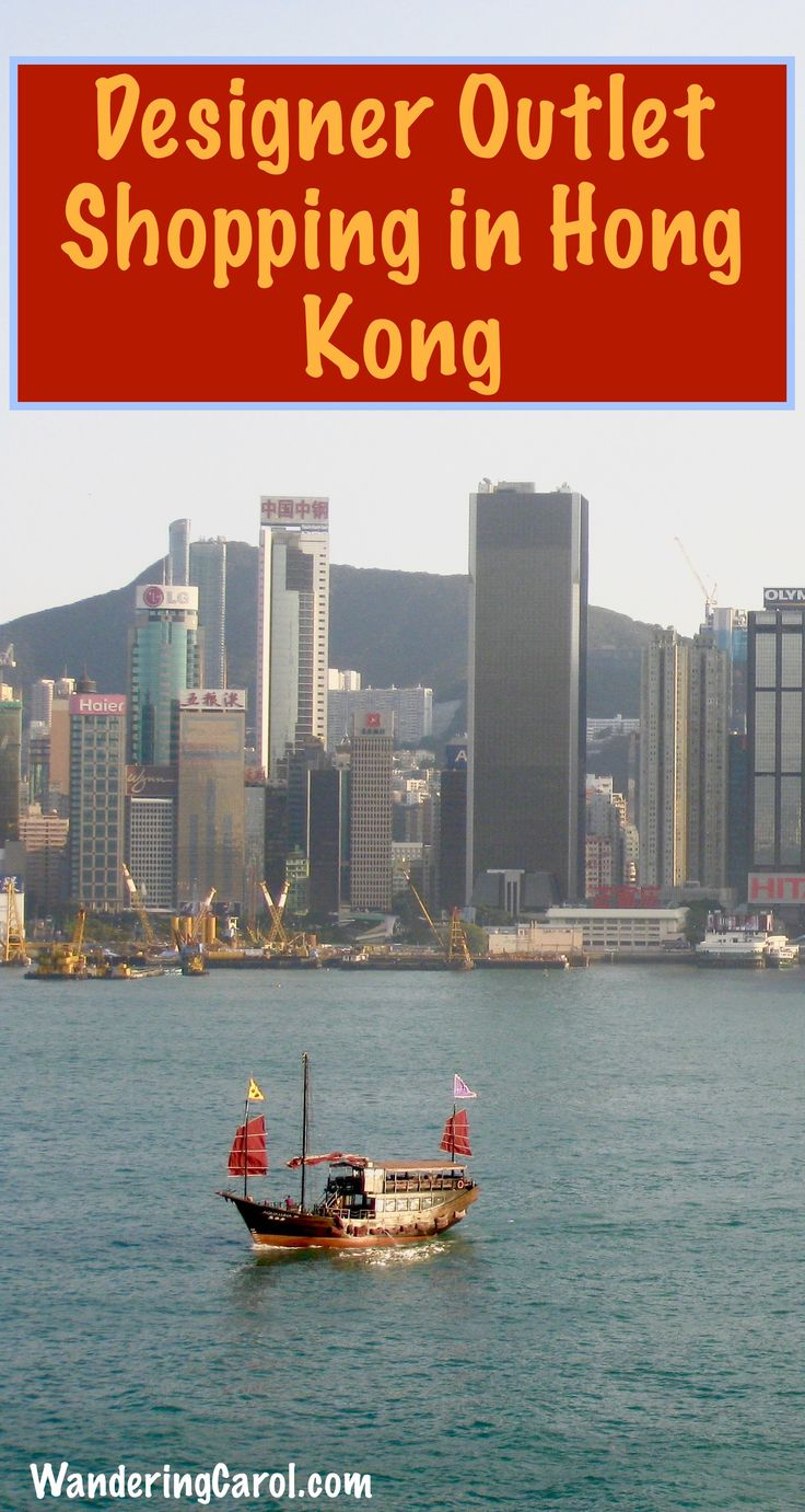 Hong Kong is one of the top destinations for shopping. If you're looking for designer outlet stores such as Prada, head to my post for shopping tips and tricks.