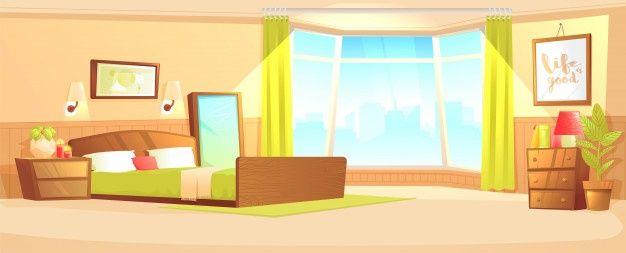 Download Bedroom Indoor Interior Banner Concept. Cozy ...